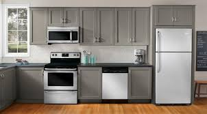 kitchen design white cabinets white appliances. Gray Cabinets White Appliances Finest Grey Kitchen Paint Design W