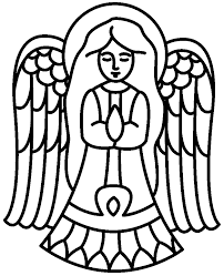 free printable christmas angel coloring pages   clip art librarychristmas angel pictures