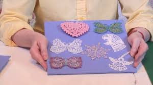 Free Standing Lace Embroidery Designs Free How To Machine Embroider Free Standing Lace Youtube