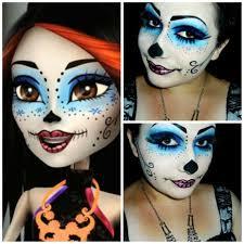 skelita calaveras monster high makeup look s makeupbee look php look id 86457