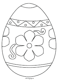 Easter Egg Printable Coloring Pages Coloring Pages Easter Eggs