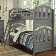 House Bunk Bed Ne Kids Lake House Twin Bunk Bed With Arched Headboard And