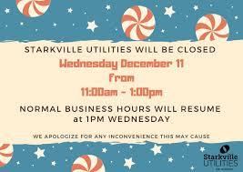 Starkville Water And Light Starkville Utilities Stark_utilities Twitter