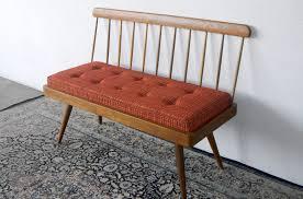 mid century modern bench ideasfarmhouses  fireplaces