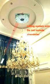 motorized chandelier or manual chandelier 67 chandelier motorized lift s