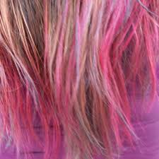 dye the ends of your hair fun colors