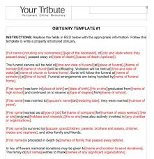 Newspaper Obituary Template 25 Obituary Templates And Samples Template Lab