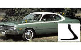 Advance auto sells dodge auto parts online and in local stores all over the country. Graphic Express 1973 74 Dodge Dart Sport Side And Over The Roof Stripe Kit