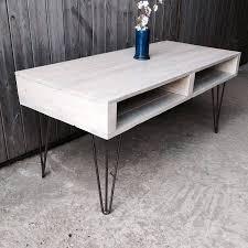 Pallet Coffee Table Legs  ThesecretconsulcomPallet Coffee Table With Hairpin Legs