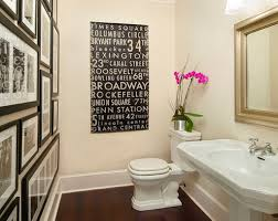 ... Awesome How To Decorate A Powder Room Powder Room Wall Decor Ideas.