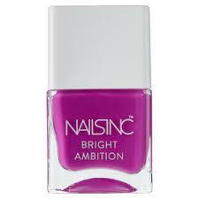 nails inc bright ambition nail polish it s 12pm somewhere 14ml