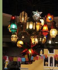 practical lighting. mexican restaurant lots of practical lighting