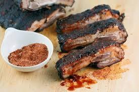 memphis style barbecue pork ribs