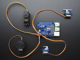 adafruit 16 channel pwm servo hat for raspberry pi mini kit id 2327 3