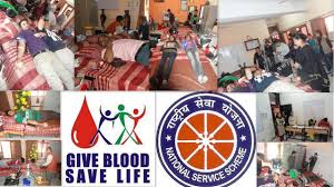 th blood donation camp held on th nov govt college of  blood donation camp