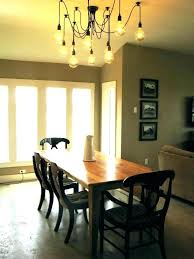 dining room chandelier height dining room chandelier height above table chandeliers stylish medium size of light
