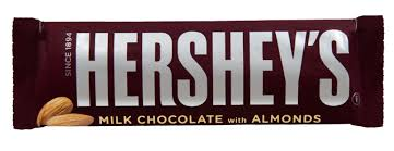 hershey almond candy bars. Fine Almond Hersheyu0027s Milk Chocolate Almond Bars 41g Intended Hershey Candy M