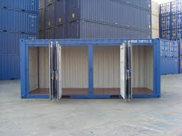 A special container conversion built for the self storage container market  - we will split this