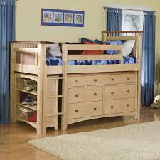Charleston Storage Loft Bed with Desk | White Twin Loft Bed | White Loft  Bunk Bed
