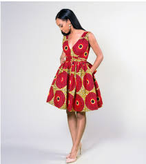 African Pattern Dress Extraordinary IQUEEN Stunning Simple Pretty African Ankara Print Sheba Wrap Dress