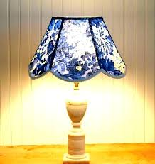 fearsome blue toile chandelier shades