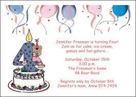 Th Birthday Party Invitations Oxsvitation Com Invitation Card For A