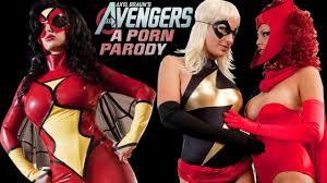 THE AVENGERS XXX parodia pornografica dei Vendicatori Video.