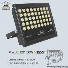 Đèn Pha Bản Hiệu LED Anfaco 001 50W ɸ235