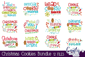 Some of the technologies we use are necessary for critical functions like security and site integrity, account authentication, security and privacy preferences, internal site usage and maintenance data, and to make the site work correctly for browsing and. Christmas Baking Bundle Svg Christmas Cookie Cut Files By Crafty Mama Studios Thehungryjpeg Com
