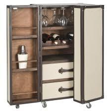 Wine Bar Storage Cabinet Safavieh Lexington Bar Cabinet With Wine Storage Reviews Wayfair