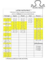 Carpet Size Conversion Chart Carpet Conversion Chart Hvstore Co