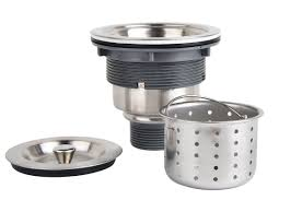 kitchen sink strainer basket. KONE 3-1/2-inch Kitchen Sink Strainer With Removable Deep Waste Basket / Assembly Sealing Lid, Stainless Steel: Amazon.ca: Tools \u0026 Home O