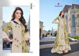 Wholesale Designer Clothes Online Arihant Nx Karigari Vol 3 Catalog Wholesale Supplier Party