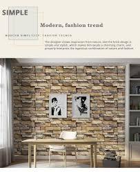 <b>3D Brick Wallpaper</b> Living Room Decoration Paper Kitchen ...
