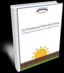 book with the 25 employee retention ideas cover