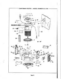 sears router manual mod 315 17431 router forums Craftsman 315 Rouer Wiring Diagram click image for larger version name router10 jpg views 617 size 131 7