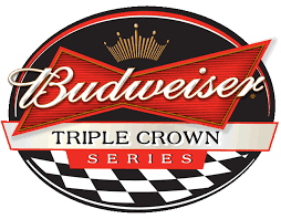 Budweiser Triple Crown Series logo | Bier in 2018 | Pinterest ...