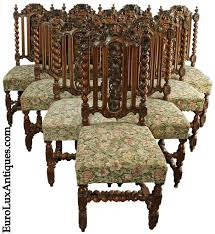 antique french oak dining table and chairs. 10 hunting chairs for our client\u0027s victorian restoration dining room antique french oak table and
