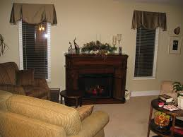 montebella distressed gany electric fireplace mantel