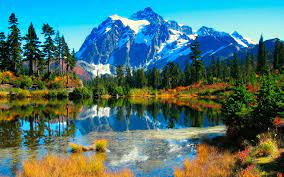 Beautiful Lake Scenery Wallpaper ...