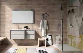 Badezimmerschrank Aus Holz Mit Spiegel Idfdesign