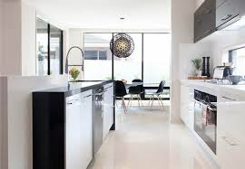 white floor tiles kitchen. Interesting Floor A Perfect Study Of Calm Monochrome Design Is Completed With These Glossy  Offwhite Tiles Source Throughout White Floor Tiles Kitchen
