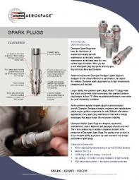 Champion Aviation Spark Plug Gap Chart Spark Plugs Champion Aerospace