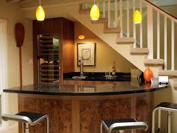 corner curved mini bar. Basement Corner Curved Mini Bar