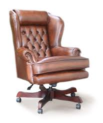 chairman s executive leather chesterfield swivel chair house of chesterfields