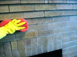 cleaning fireplace brick how to clean fireplace bricks cleaning fireplace brick awesome fireplace brick cleaner clean