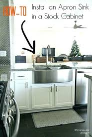 Ikea Apron Front Sink Learn How To Modify A Cabinet An  Farmhouse Ikea Apron Front Sink85