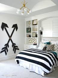 bedroom design ideas for teenage girl. Exellent Design Pottery Barn Teen Girl Bedroom With Wooden Wall Arrows On Design Ideas For Teenage G