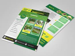 Commercial Flyers Professional Lawn Care Commercial Flyer Template Mycreativeshop
