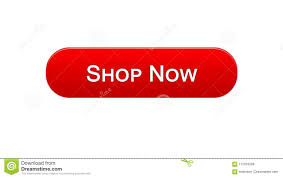Service Advertisement Shop Now Web Interface Button Red Color Online Shopping Service